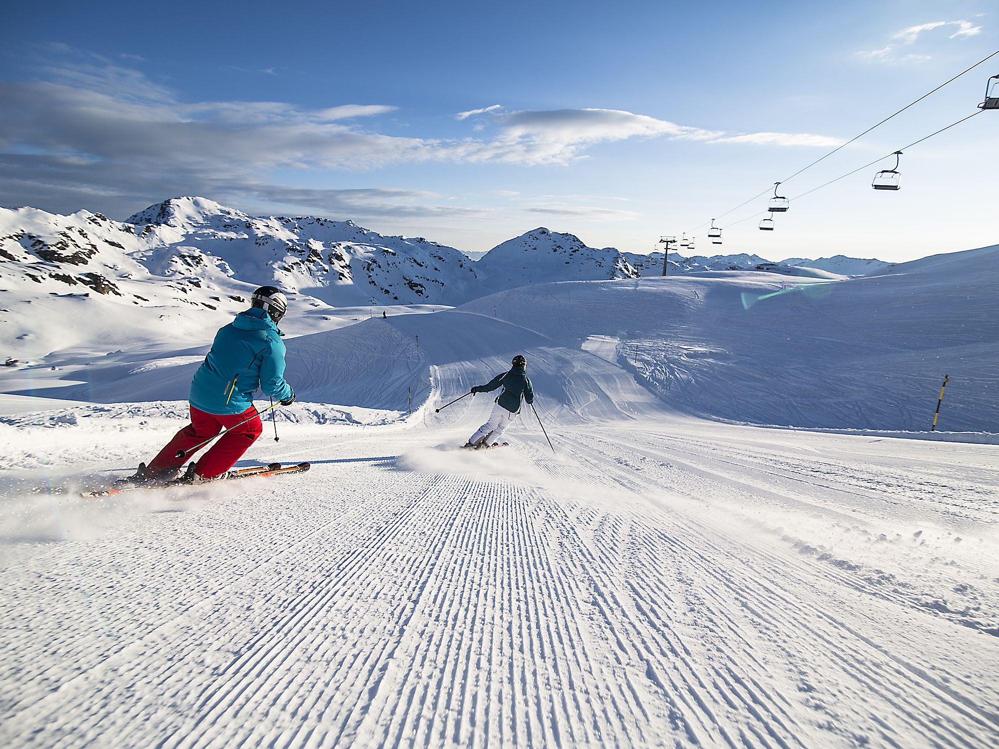 Skifahren im Zillertal in der Zillertal Arena
