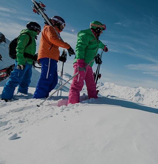 Free ski storage for rental customers